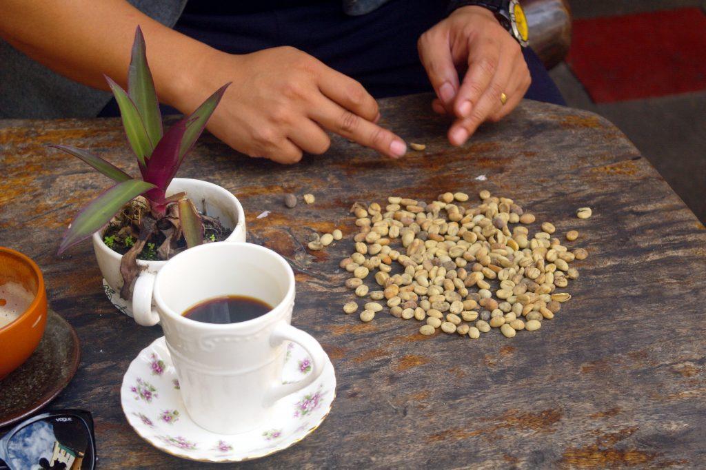 Qualitätsunterschiede von Kaffeebohnen